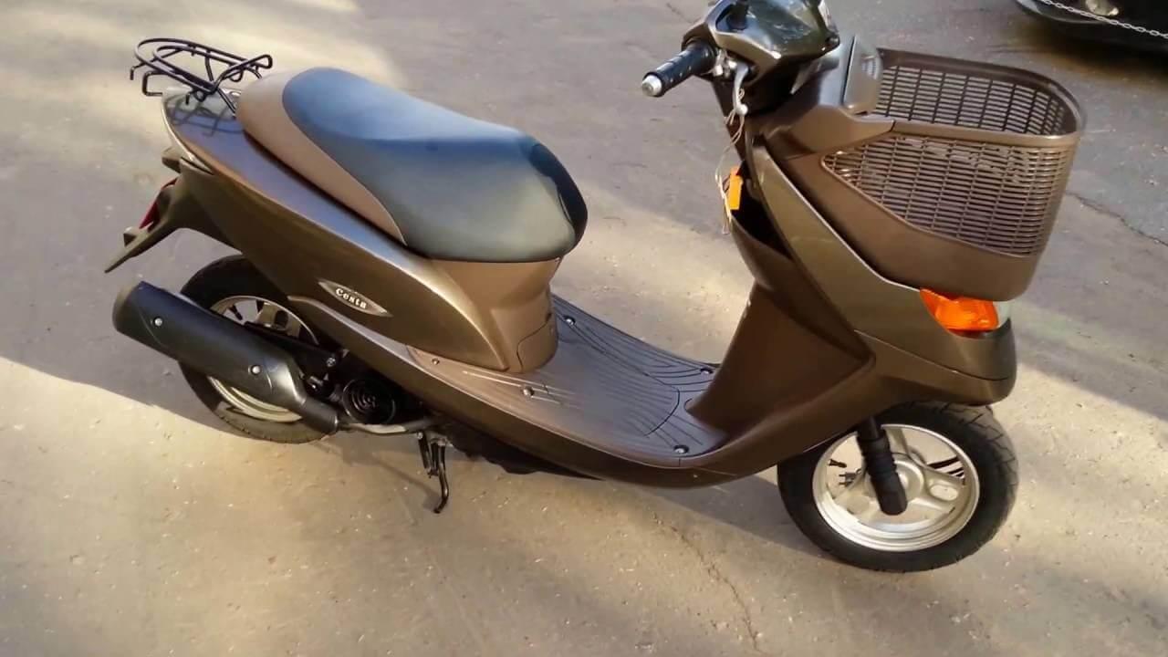 Оценим достоинства скутера Honda Dio af68