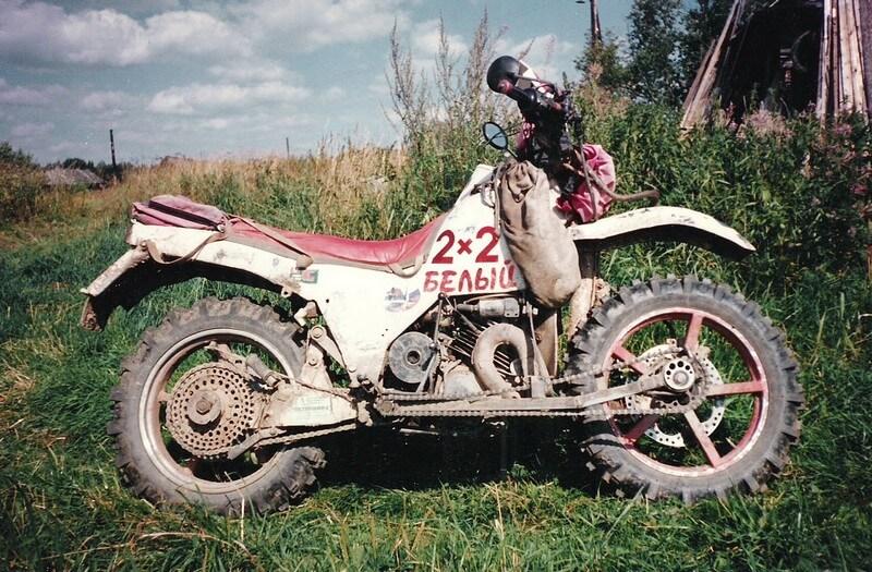 Туристические мотоциклы Гарагашьяна: трактора на двух колесах